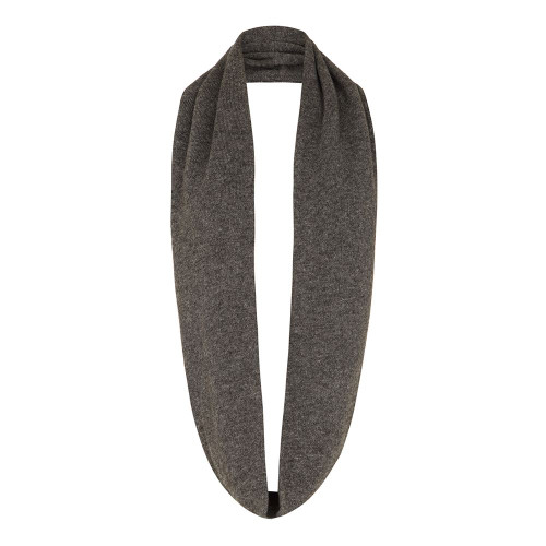 Cashmere Snood, Grey