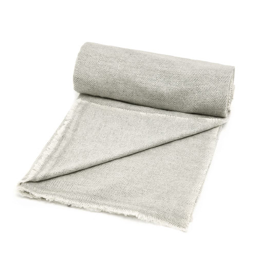 Cashmere Blanket, Silver