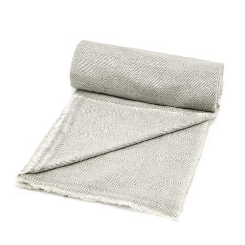 Cashmere Blanket, Silver