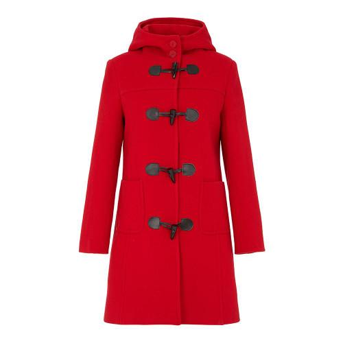 Duffle Coat, Red