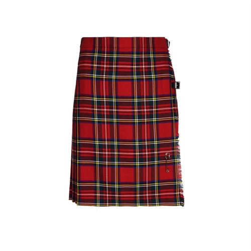 Ladies Pure Wool Kilt, Short, Royal Stewart