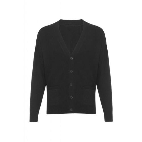 Cashmere Classic Cardigan, Black