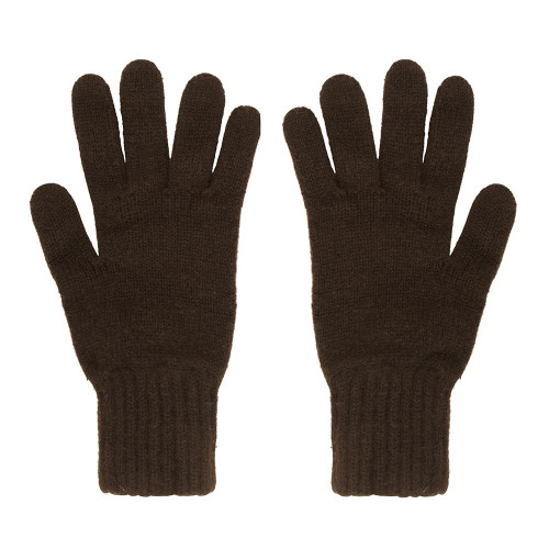 Cashmere Gloves, Brown