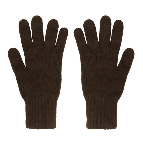 Cashmere Gloves, Brown