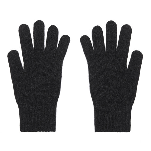 Cashmere Gloves, Charcoal