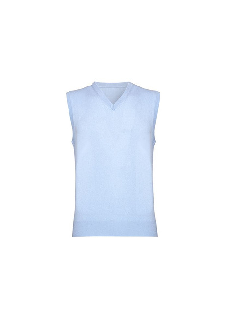 Cashmere Slipover, Pale Blue