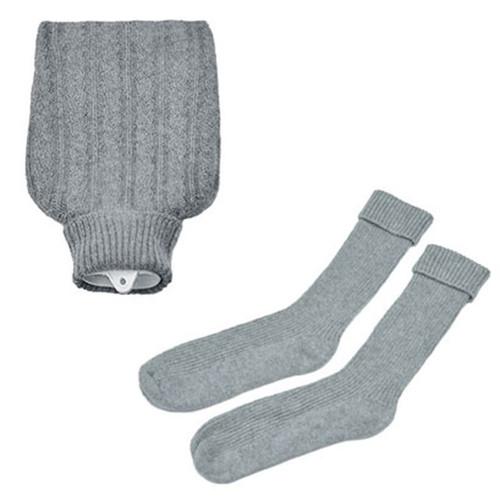 Hottie and Socks Set, Grey