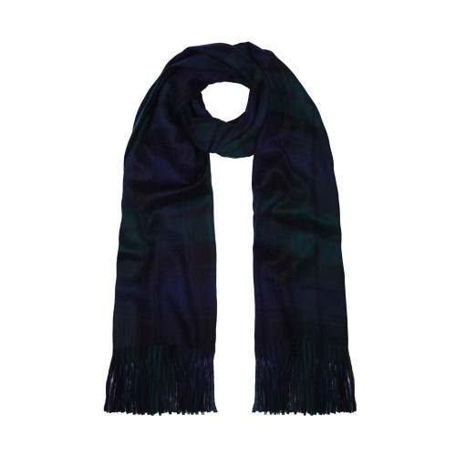 Cashmere Shawl, Black Watch