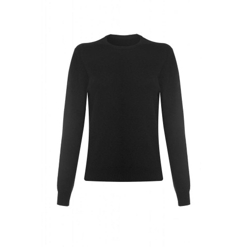 Cashmere Round Neck, Black