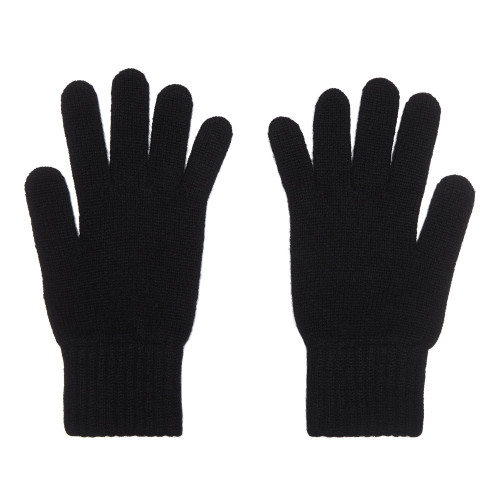 Cashmere Gloves, Ladies, Black