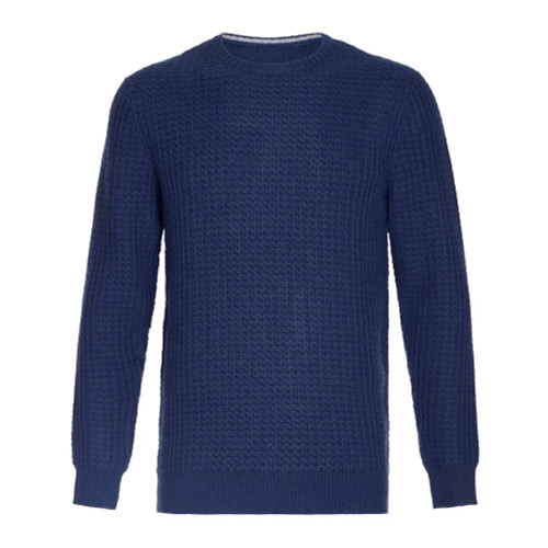 Honeycomb Jumper, Blue