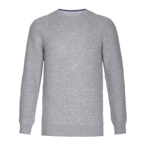 Honeycomb Jumper, Grey
