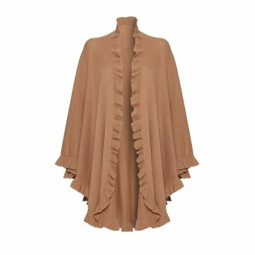 Cashmere Frilly Cape