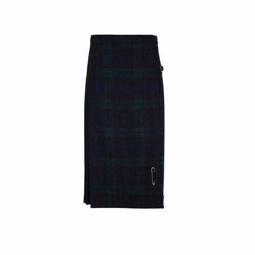 Ladies Pure Wool Kilt, Long