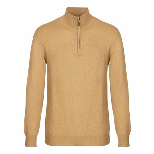 Mens Zip Neck Jumper