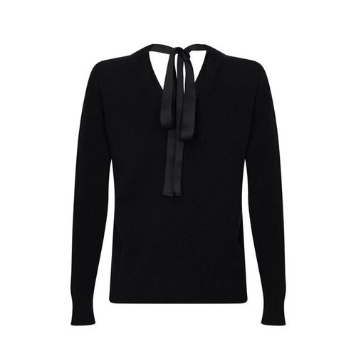Ribbon Neck Jumper