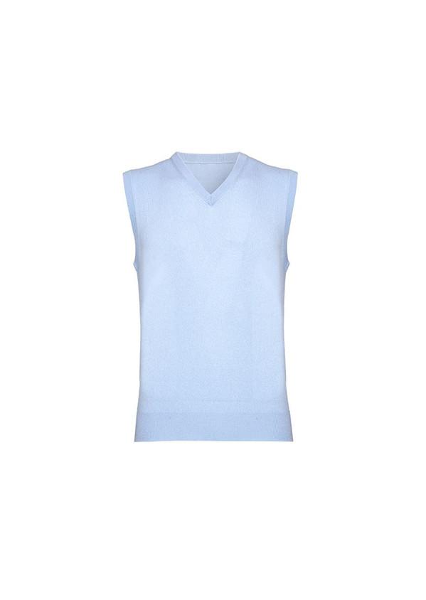 Cashmere Slipover, Pale Blue