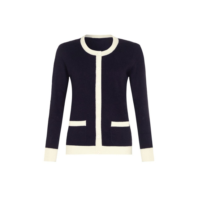 Cashmere Cardigan, Navy