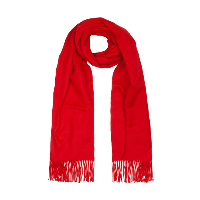 Cashmere Shawl, Red