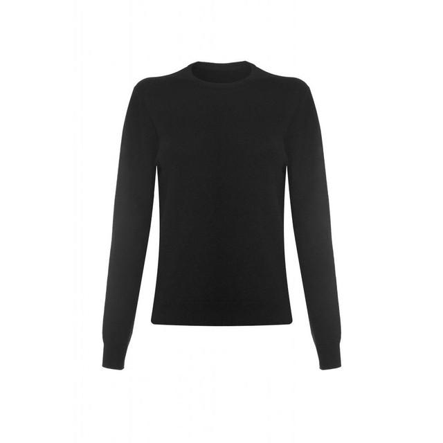 Cashmere Round Neck, Black