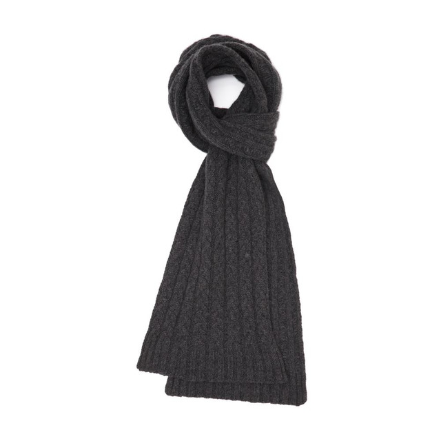 Cashmere Cable Scarf, Derby