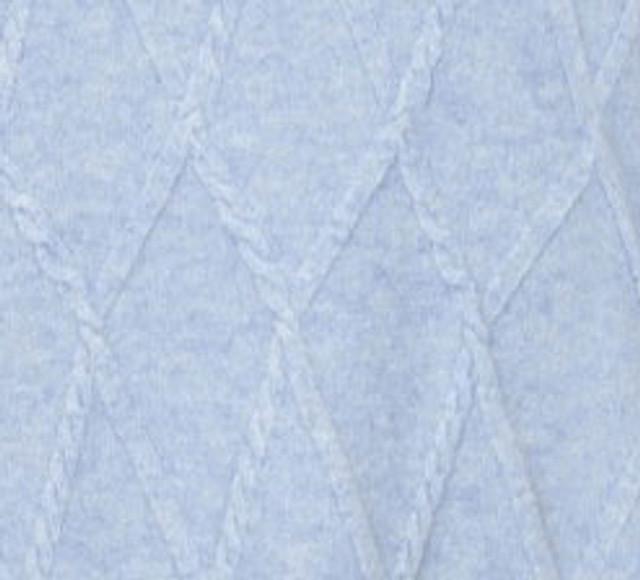 Argyle Turtle Neck, Powder Blue
