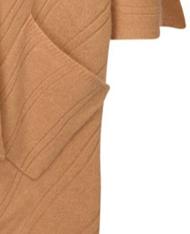 Cape with Pockets, Camel