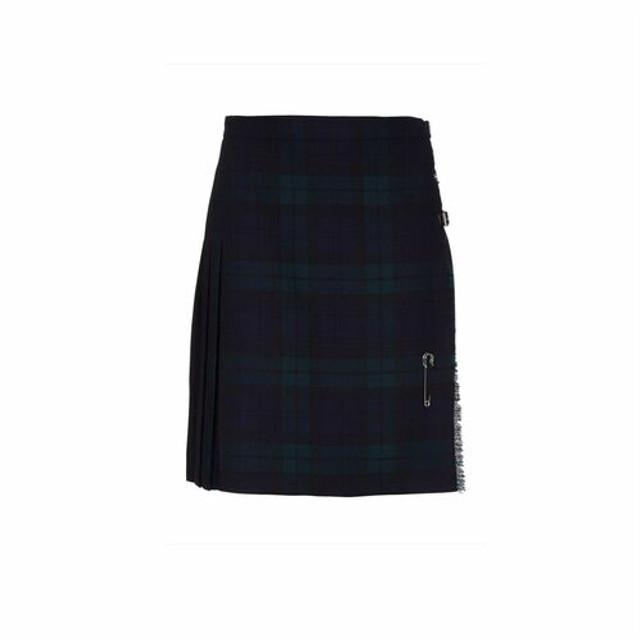 Ladies Pure Wool Kilt, Short