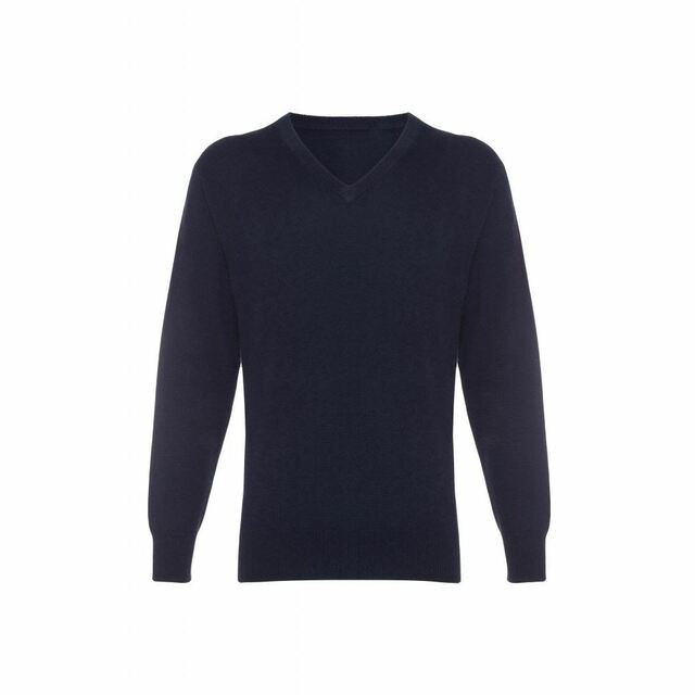 Cashmere V Neck Jumper - Men