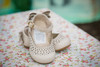 Bow Flat Leather  Shoes - Baby