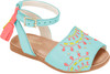 Embroidered Avarca Sandals  - Baby