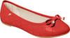 Quilted Stitch Ballet Flat Shoes - Mother