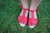 Aurora Leather sandals - Baby