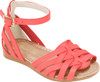 Lara Straps Leather Sandals - Girls