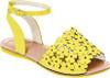 Flower Cutout  Avarca Sandals - Girls