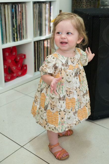 Animalitos Baby Dress