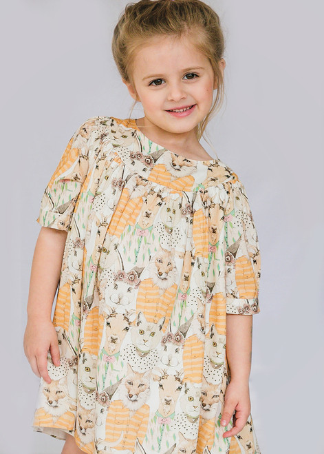 Animalitos Girl Dress