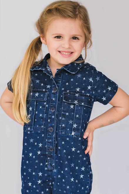 Girl Star Jumpsuit