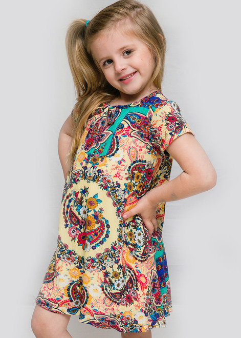 Canela Girl Dress