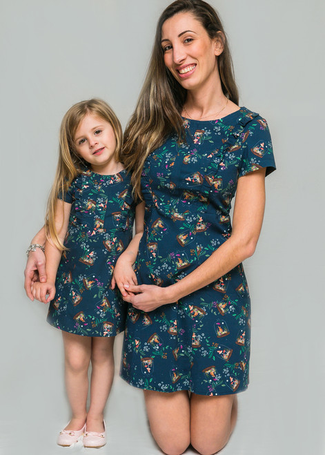 Dome Flower Mother Dress