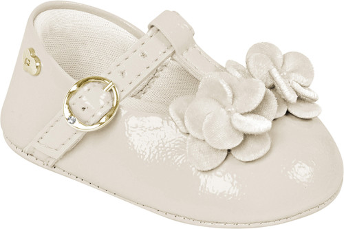 Bege Flower Shoes - Baby