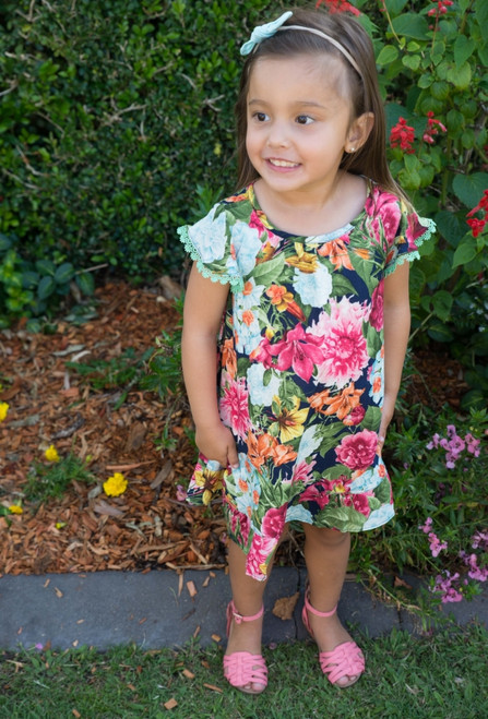 Bouquet Baby Dress