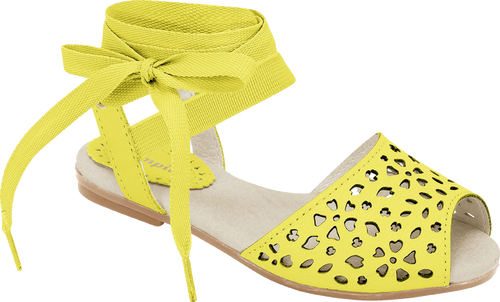 Aurora cutout Sandals - Girls