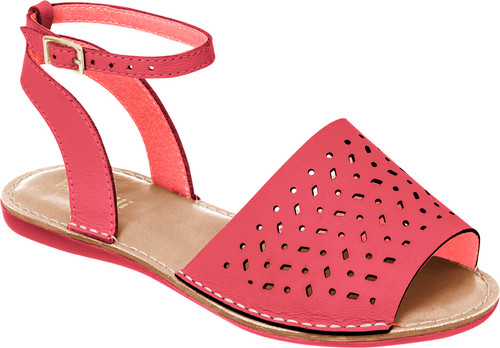 Cutout  Avarca Sandals - Girls
