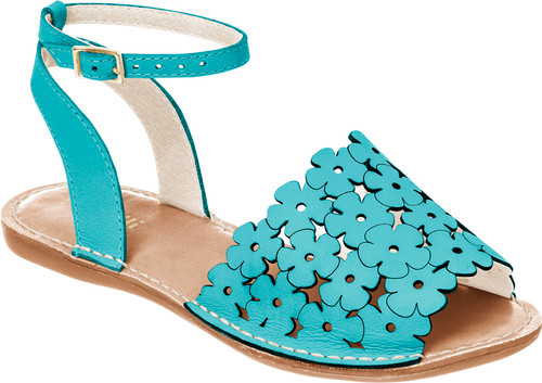Flower Cutout  Avarca Sandals - Mum