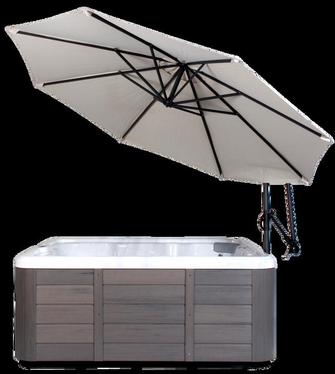 Spa Side Umbrella in Creme
