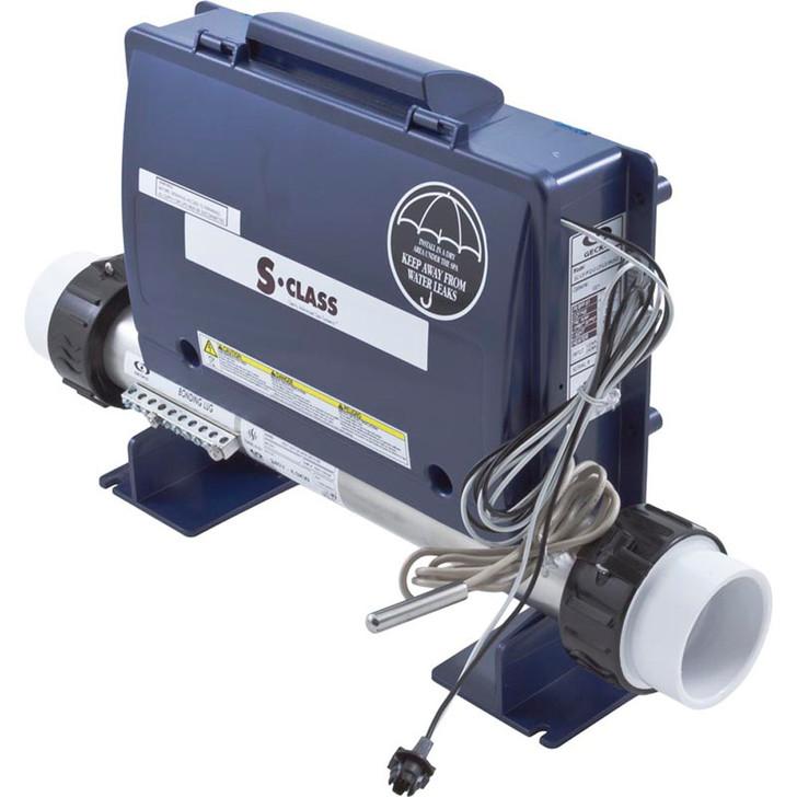 0202-205212 Gecko S-Class Control Box, W/ Heater, P1, OZ, L, 4KW, 115v/230v