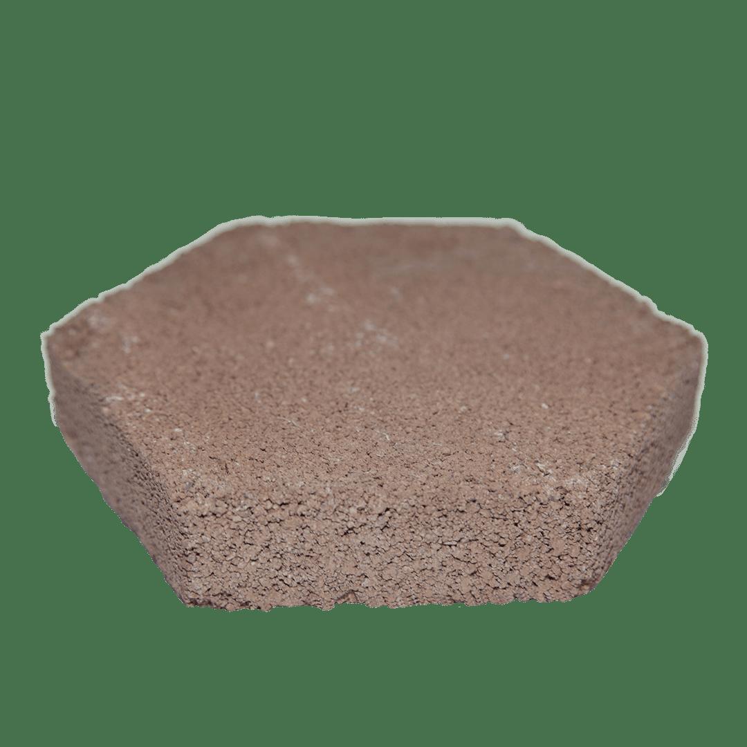 Piso Hexagonal de Barro