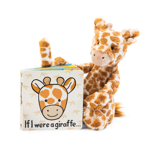If I Were A Giraffe Book + Plush Gift Set