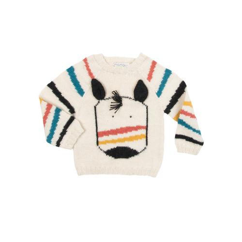 Knit Zebra Sweater